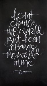 Bono Change Quote