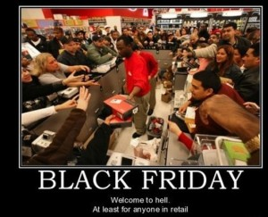 Black Friday violators may be found in Dante's 4th through 9th levels of Hell.