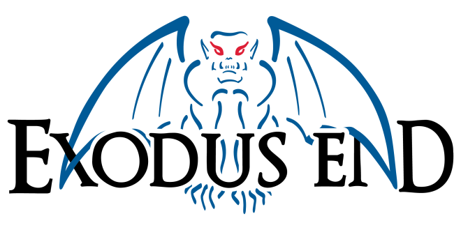 Exodus End Logo by Charity Hendry